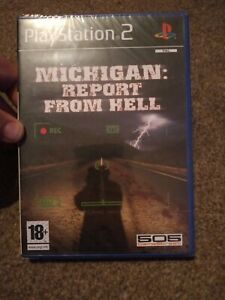Playstation 2 Michigan Report From Hell BRAND NEW SEALED PAL * RARE * COLLECTORS