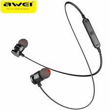 Newest AWEI T11 Wireless Headphone Bluetooth Earphone Headphone For Phone Neckba