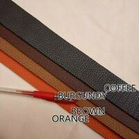 Leather Strap Tape Fabric Real Genuine Hide Cut Material DIY Belt Making Crafts