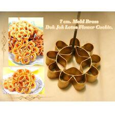 Dok Jok Brass Mold Lotus Flower Thai Traditional Dessert Sunflower Cookie 7 CM