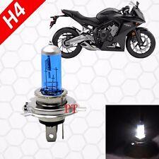 H4 1pc 55W Halogen Headlight Light Bulb 5000K Super White Harley Davidson Bike