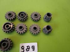 LEGO Technik:  Zahnräder und Driving Rings altdunkelgrau aus 8466