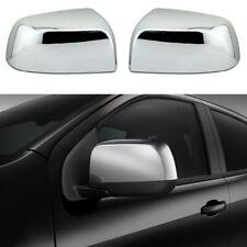 For 2015-2021 Chevy Colorado / GMC Canyon Chrome Top Half Mirror Covers Overlay