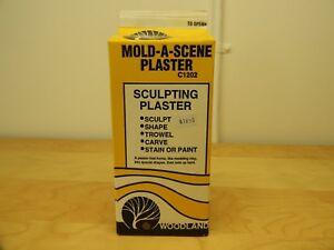 WOODLAND SCENICS, MOLD-A-SCENE PLASTER, C1202