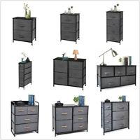 Cerbior Fabric Drawer Dresser Storage Tower Closet Organizer Unit Bedroom Home