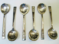 6x Community Spoon Vintage Cutlery 17.5cm