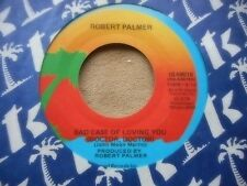 "ROBERT PALMER ""BAD CASE OF LOVING YOU"" / ""LOVE CAN RUN FASTER' 7"" 45"