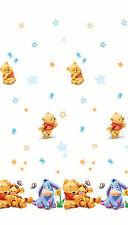 Disney Winnie Pooh Puuh Baby Meterware Deko Gardine Stoff je lfm 205-210cm hoch