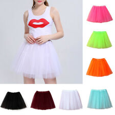 Women's High Quality Pleated Gauze Short Skirt Adult Tutu Dancing Ballet SkirtsA
