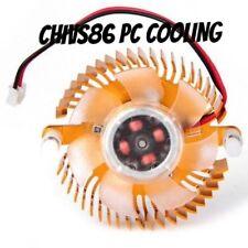 10pcs New Snowflake Aluminum 55mm Computer VGA Video Card Cooler Heatsink Fan