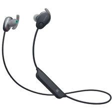 Sony WISP600N Sports Wireless Noise Canceling In-Ear Headphones - Black NEW  #28