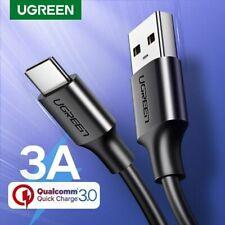 Ugreen Usb-C TIPO C Cargador de Datos Teléfono carga rápida Cable Para Samsung S8 Lg Mac
