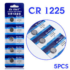 LM1225 BR1225 CR1225 ECR1225 KCR1225 3V CELL COIN BATTERY WATCH BUTTON 5 PCS