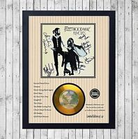 FLEETWOOD MAC RUMOURS CUADRO CON GOLD O PLATINUM CD EDICION LIMITADA. FRAMED