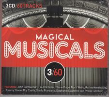 """Magic Musicals """"Various Artists"""" 3CD Set 60 Tracks NEW & SEALED 1st Class Post"""