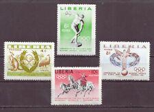 Liberia, Melbourne Olympics, MNH, 1956, OLD