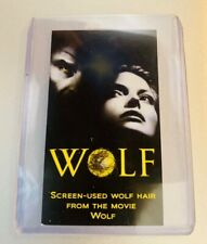 New Listing1994 Wolf movie prop hair Jack Nicholson Screen Used Rare