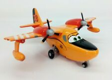 Disney Planes Fire & Rescue Deluxe Dipper yellow #28 moving pontoons diecast F/S