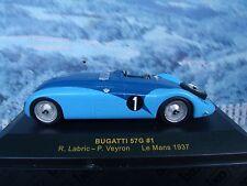 1/43 IXO Bugatti 57G #1 Le Mans 1937