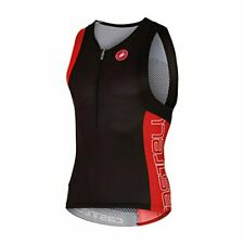 New listing Castelli Men's Free-Tri Top Red Small