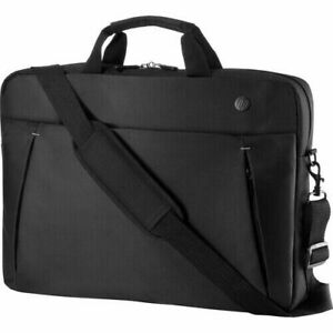 """NEW HP 17.3"""" Business Slim Top Load Laptop Carrying Case, Strap, Black - 2UW02AA"""