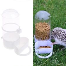 Bird Pet Drinker Feeder Automatic Food Waterer Clip Aviary Cage Parrot Budgie