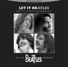 Beatles, Let It Be, CD, Bonus Disc, 40th Anniversary, Never Before Released Trac