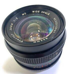Vivitar 28mm 1:2 Wide Angle Lens 55mm