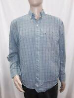 Men's Large Blue IZOD Dress Shirt