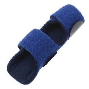 1 Stück Blau Fingerunterstützung Fingerschiene Fingerglätter