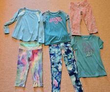 Girls Lot Of Athletic Clothes Size 6X. Champion,Under Armour,Zella Girl