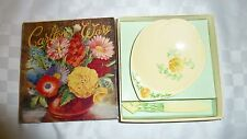 Carlton Ware Yellow Buttercup Butter Dish and Knife Boxed
