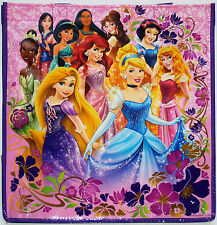 Disney Store 10 PRINCESSES Ecology Reusable Shopping Bag New Tote w/Pocket & Tag