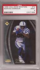 1998 Collector's Edge Masters #72 Marvin Harrison (Colts) PSA 9 - #'d 3874/5000