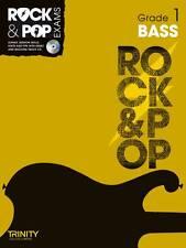 Trinity Rock & Pop Exams: Bass Grade 1 by Trinity College London (Mixed media p…