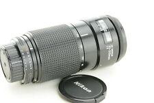 Nikon AF Nikkor 70-210mm 1:4, FX und DX, lesen /read