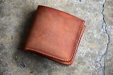 ROBERU Short Wallet Shading Leather Camel Hand made TAKUMI Japan New
