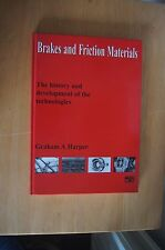 BRAKES AND FRICTION MATERIALS History Development Technologies HB 1998 FERODO