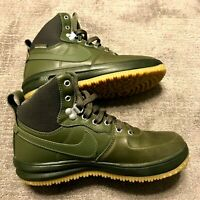 Nike Lunar Force 1 Sneakerboot Medium Olive - Size 5Y