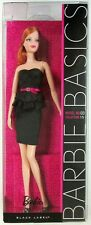 Barbie Basics Black Dress Model No. 6 Collection 1.5 (Black Label) (NEW)