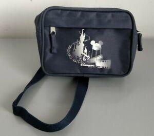 Disneyland Paris Blue Bum Bag Fanny Pack with Adjustable Strap