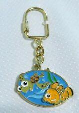 Disney Pixar Finding Nemo Gimme Fin Turtle Squirt Movable Nemo Sliding Key Chain
