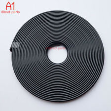 BLACK RUBBER WHEEL RIMS PROTECTOR SAVER CAR VEHICLE TIRE GUARD LINE MOULDING 22""