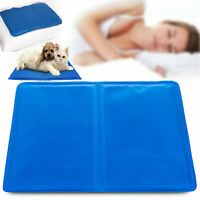 Cooling Gel Pillow Chilled Natural Comfort Sleeping Aid Body Cool Bed Mat Pad