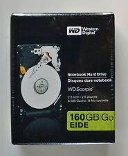 Western Digital 160GB EIDE WD1600VERTL WD Scorpio Notebook Hard Drive NEW IN BOX