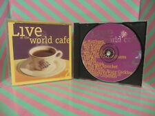 LIVE AT THE WORLD CAFE Vol 2 CD dave matthews band LOS LOBOS joan beaz