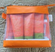 California Mango Beauty Travel Kit Loation Gel Scrub Dry Skin and Lip Balm NIP