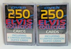 1996 Collect - 250 Elvis Collector Cards + 4 Limited Edition - (2) Sealed Boxes!