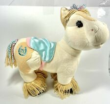 Cabbage Patch Kids Horse Plush - Doll 2005 CPK Tan Cream Clydesdale w/ Saddle