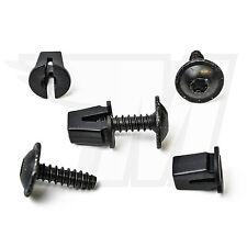 5x universal spreizmutter clips + metal tornillo de fijación Audi VW skoda...